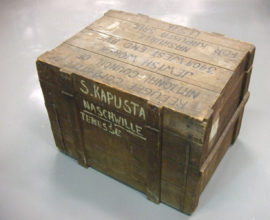 Collections Highlight – A Holocaust Survivors' Crate